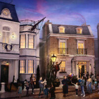 Rendering of Mary Poppins Attraction at Disney World; Courtesy of Disney