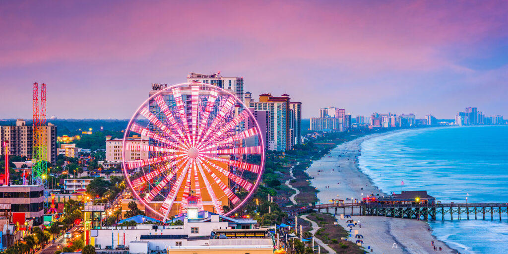 Myrtle Beach Sc Family Vacations
