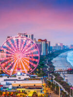 Myrtle Beach, South Carolina at Night; Courtesy of Sean Pavone/Shutterstock.com