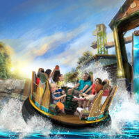 Rendering of Mystic River Falls at Silver Dollar City; Courtesy of SDC Attractions