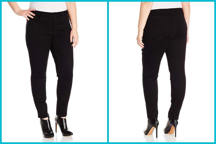 NYDJ Plus Size Alina Skinny Jeans; Courtesy of Amazon