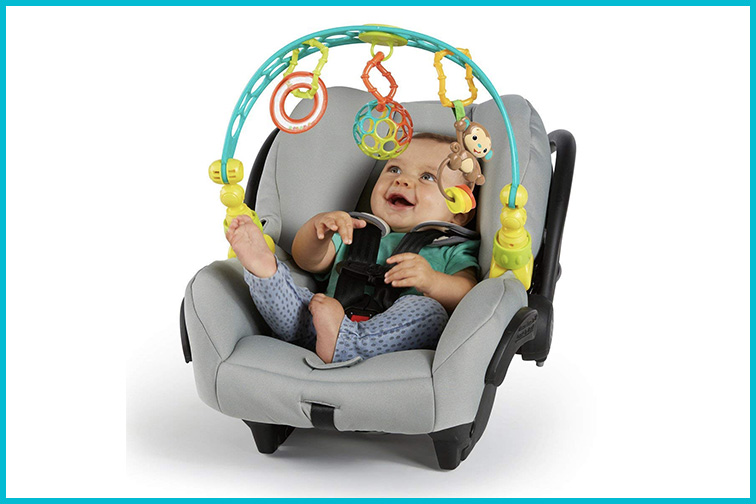 OBall Flex and Go Activity Arch Take Along Stroller Toy