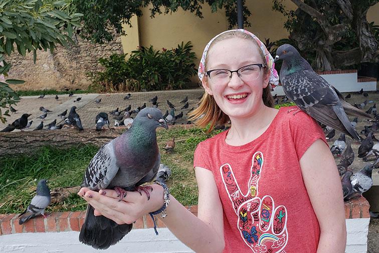 Pigeon Park in San Juan, Puerto Rico