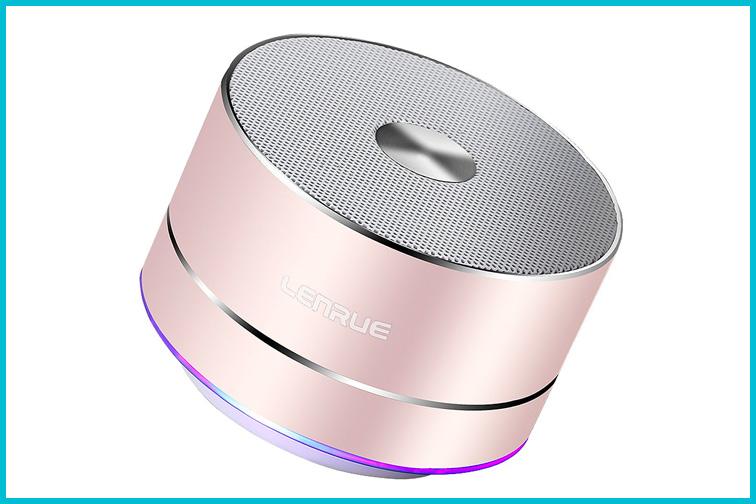 Portable Bluetooth Speaker; Courtesy of Amazon
