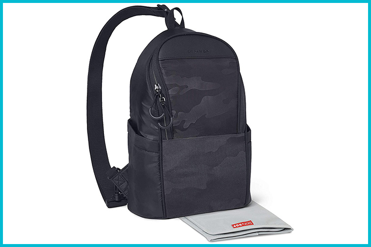 Skip Hop Diaper Bag Crossbody Sling; Courtesy of Amazon