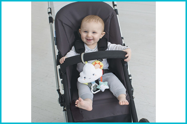 SkipHop Silver Lining Stroller Arch Toy; Courtesy of Amazon