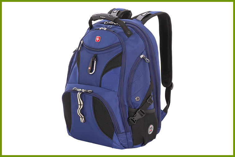 SwissGear SA1923 Rich Navy TSA Friendly ScanSmart Laptop Backpack; Courtesy of Amazon