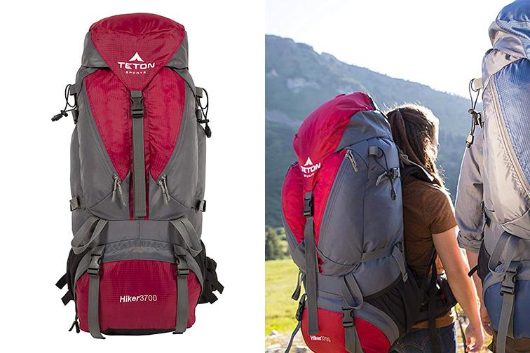 TETON Sports Hiker 3700 Ultralight Internal Frame 60L Backpack ;Courtesy of Amazon