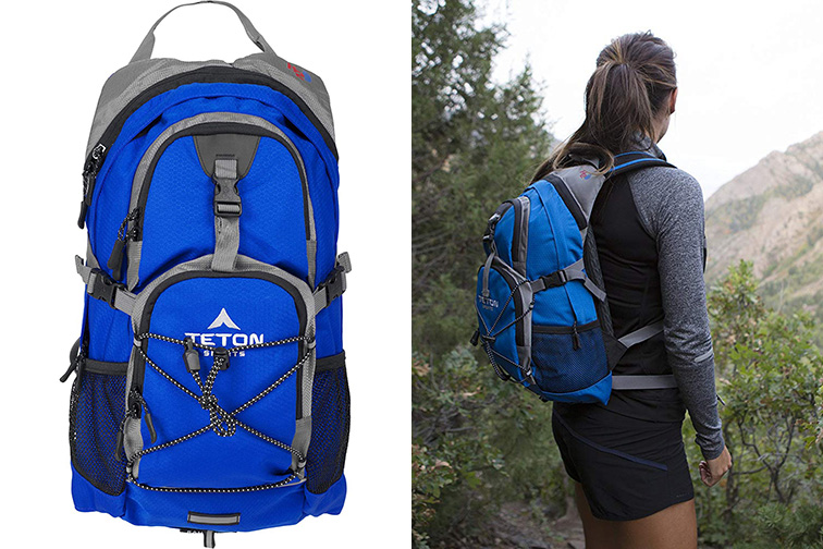 TETON Sports Oasis 1100 Hydration 18L Backpack with Free 2-Liter Bladder ;Courtesy of Amazon