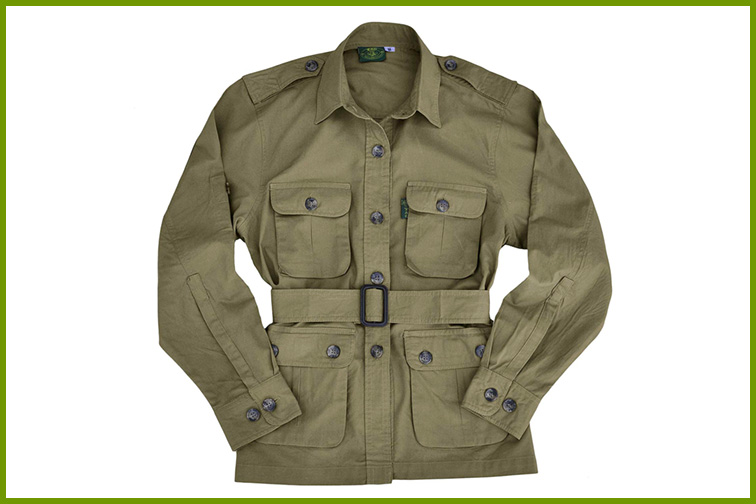 Tag Safari Jacket for Women; Courtesy of Amazon