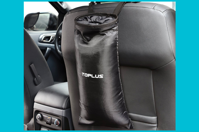 Toplus Car Trash Bag; Courtesy of Amazon