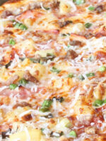 Golden Hawaiian Pizza at Ultimate California Pizza in Myrtle Beach, SC