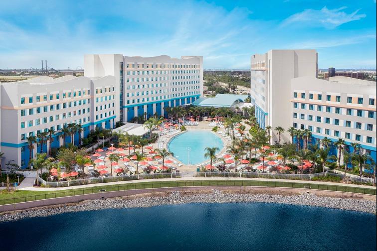 Universal's Endless Summer Resort – Surfside Inn and Suites; Courtesy of Universal's Endless Summer Resort – Surfside Inn and Suites