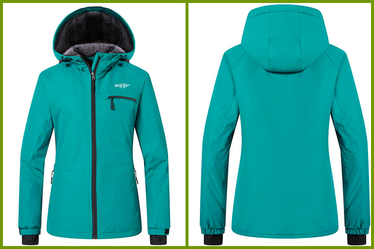Wantdo Women's Mountain Ski Fleece Jacket; Courtesy of Amazon