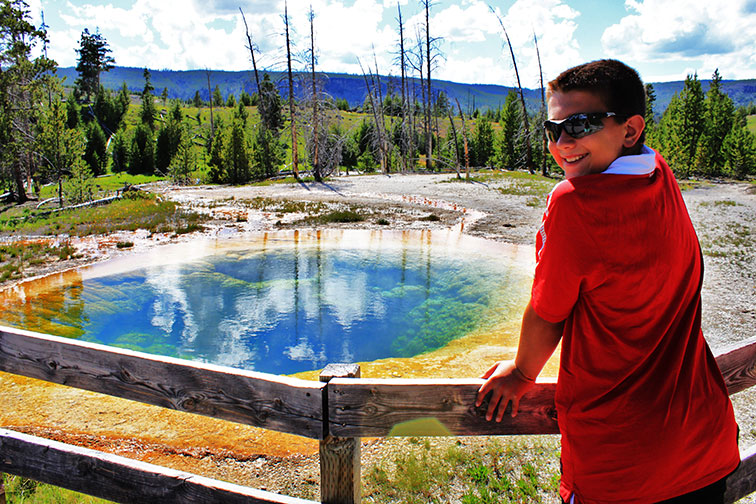 Austin Adventures in Yellowstone National Park