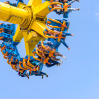 Amusement Park Ride; Courtesy of Zenrio Believe/Shutterstock