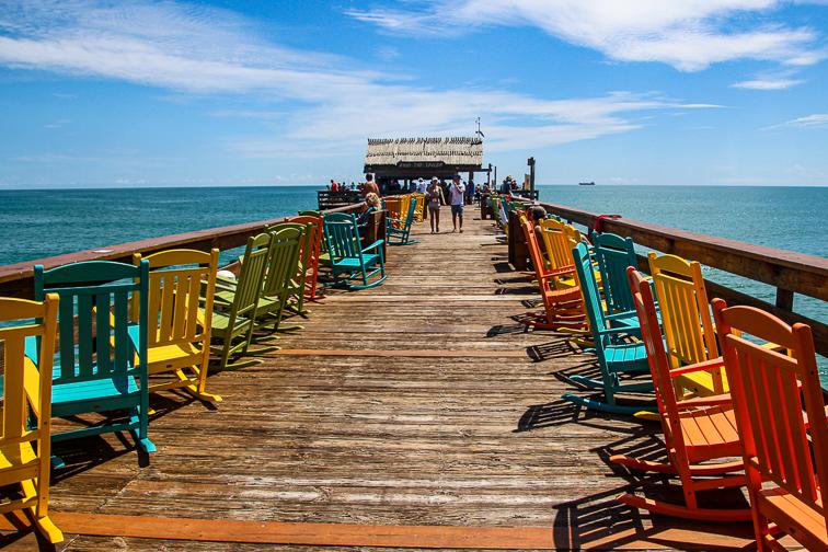 Cocoa Beach pier; Courtesy of tamara321/Shutterstock