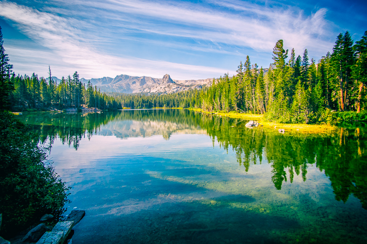Mammoth Lakes in California; Courtesy of Pabkov/Shutterstock
