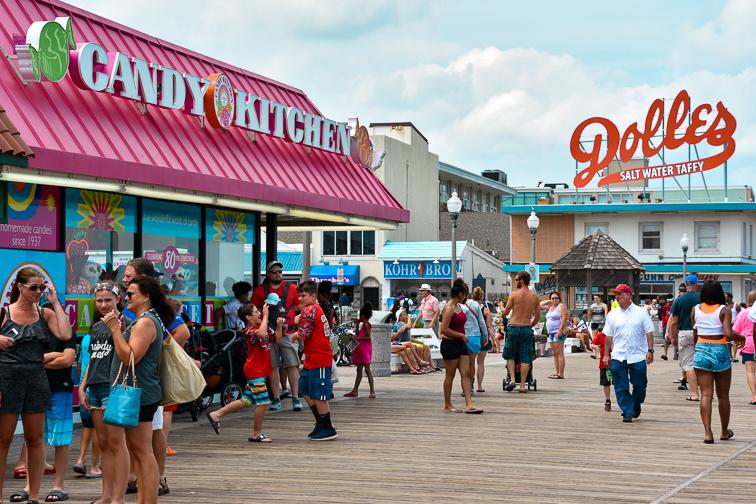 Boardwalk at Rehoboth Beach in Delaware; Courtesy of Ritu Manoj Jethani