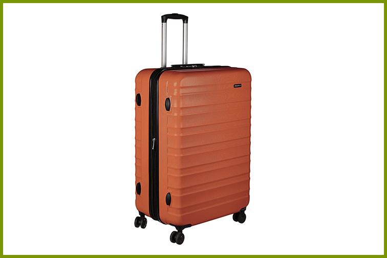 AmazonBasics Hardside Spinner 28-Inch Luggage; Courtesy of Amazon