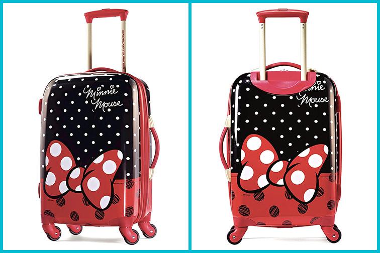 American Tourister Disney Hardside Luggage; Courtesy of Amazon