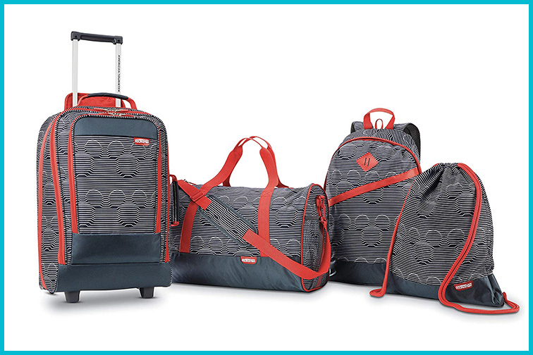 American Tourister Kids' Mickey 4-Piece Set; Courtesy of Amazon