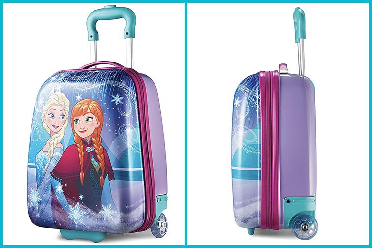 American Tourister Kids Disney Hardside Luggage; Courtesy of Amazon