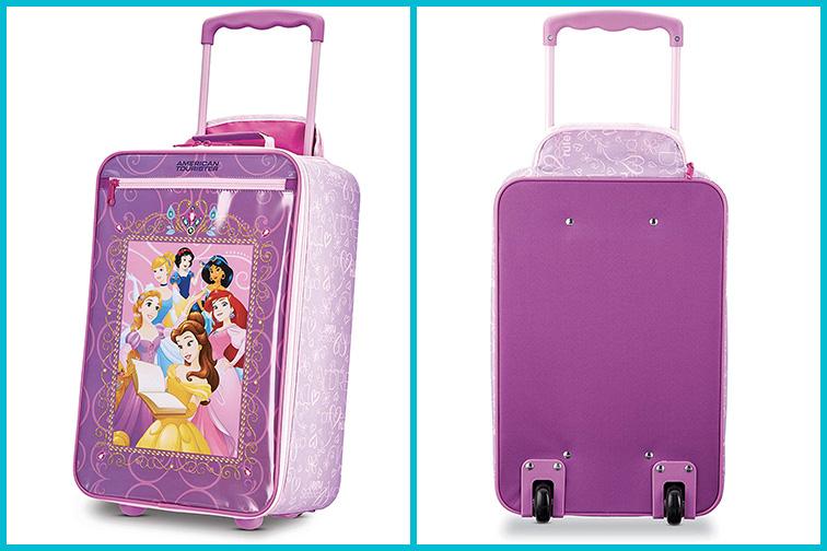 American Tourister Softside Disney Luggage; Courtesy of Amazon