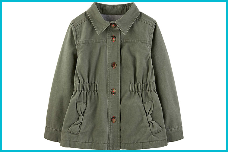 Simple Joys by Carter's Baby and Toddler Girls Twill Jacket; Courtesy of Amazon