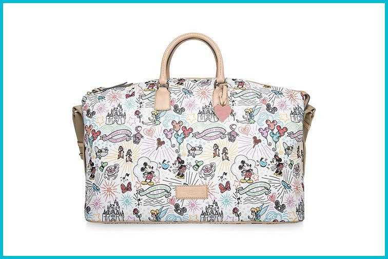 Disney Sketch Weekender Bag by Dooney and Bourke; Courtesy of Disney
