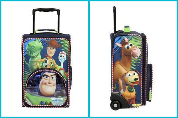 Disney Toy Story Kids' Carry-On Suitcase; Courtesy of Target