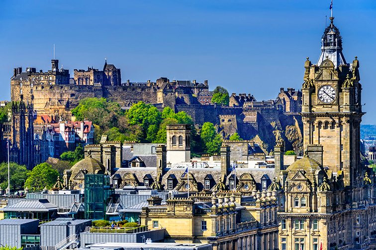 Edinburgh; Courtesy of Ruth Peterkin /Shutterstock
