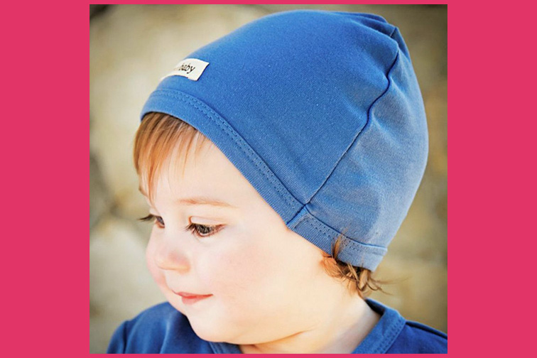 L'ovedbaby Organic Infant Cap; Courtesy of Amazon