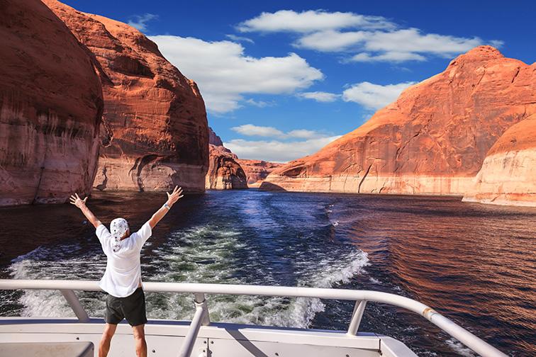 Lake Powell, AZ; Courtesy of kavram/Shutterstock