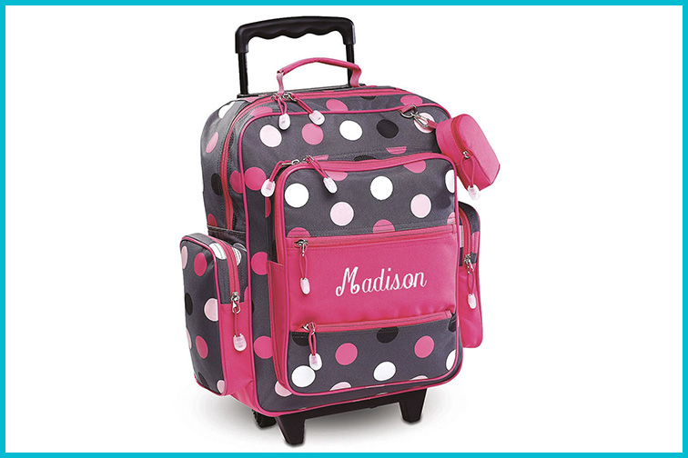 Lillian Vernon Personalized Travel Bags; Courtesy of Amazon