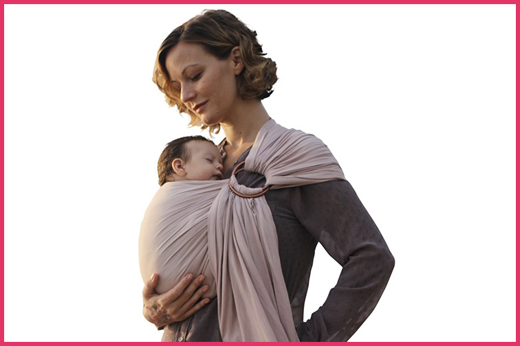 Luxury Ring Sling Baby Carrier; Courtesy of Amazon