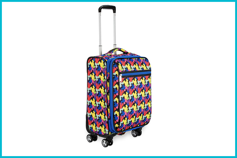 Mickey Mouse Icon Luggage; Courtesy of Disney