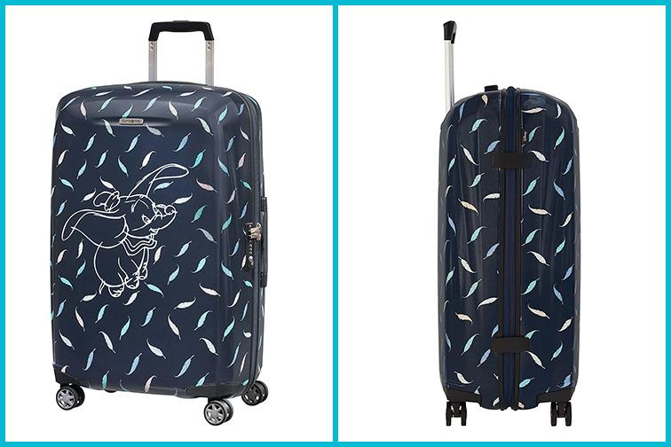 Samsonite Disney Luggage; Courtesy of Amazon