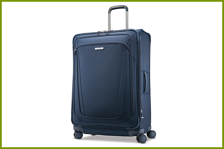 Samsonite Silhouette 16 30-Inch Expandable Spinner Luggage; Courtesy of Samsonite