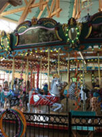 Silver Beach Carousel in Saint Joseph, MI; Courtesy of TripAdvisor Traveler JerryK7