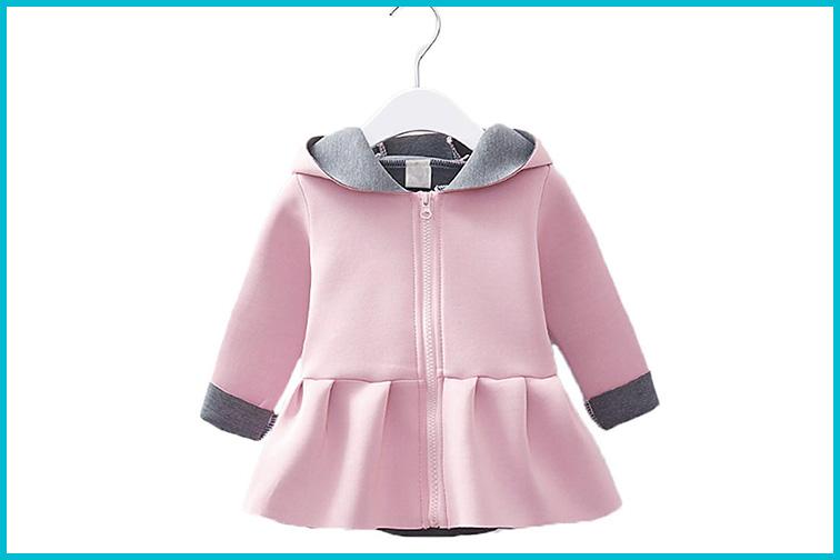XARAZA Toddler Girls Fall Jacket; Courtesy of Amazon