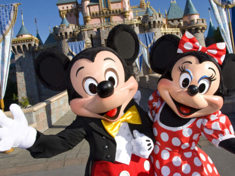 Mickey and Minnie mouse; Courtesy of Walt Disney World