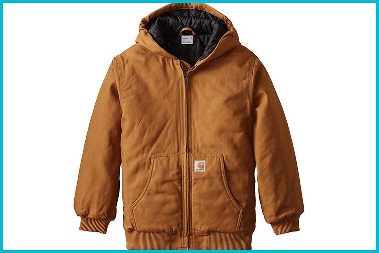 Carhartt Boys Active Taffeta Quilt Lined Jacket; Courtesy of Amazon