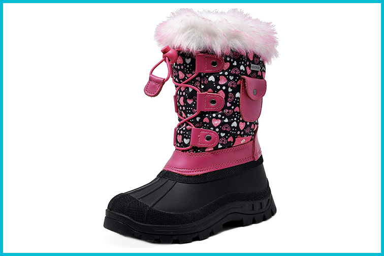 DREAM PAIRS KSNOW Insulated Waterproof Snow Boots; Courtesy of Amazon