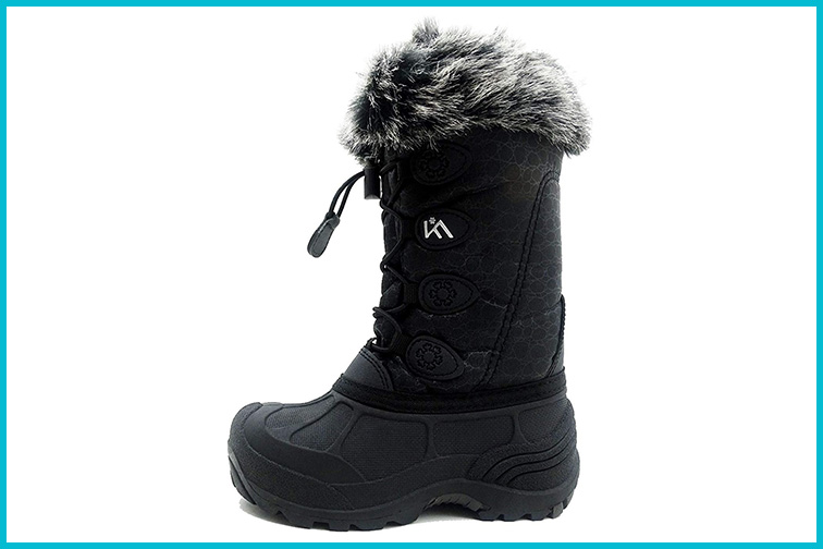 ICEFACE Kids Winter Snow Boots; Courtesy of Amazon