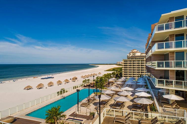 JW Marriott Marco Island Beach Resort; Courtesy of JW Marriott Marco Island Beach Resort