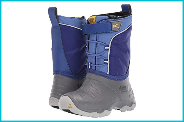 KEEN Kid's Lumi Waterproof Snow Boots; Courtesy of Zappos
