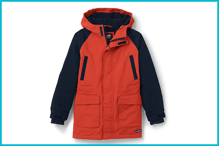 Lands' End Boys Squall Waterproof Winter Parka; Courtesy of Amazon