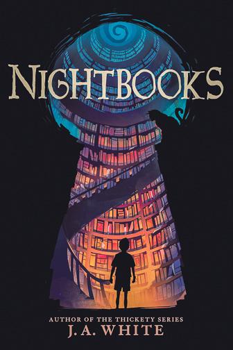 Nightbooksby J.A. White ; Courtesy of Amazon