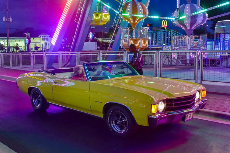 Saturday Nite Classic Car Cruise ; Courtesy of Visit Orlando